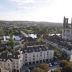 Mantes-la-Jolie (78) 1  Vue de la Tour Saint-Maclou